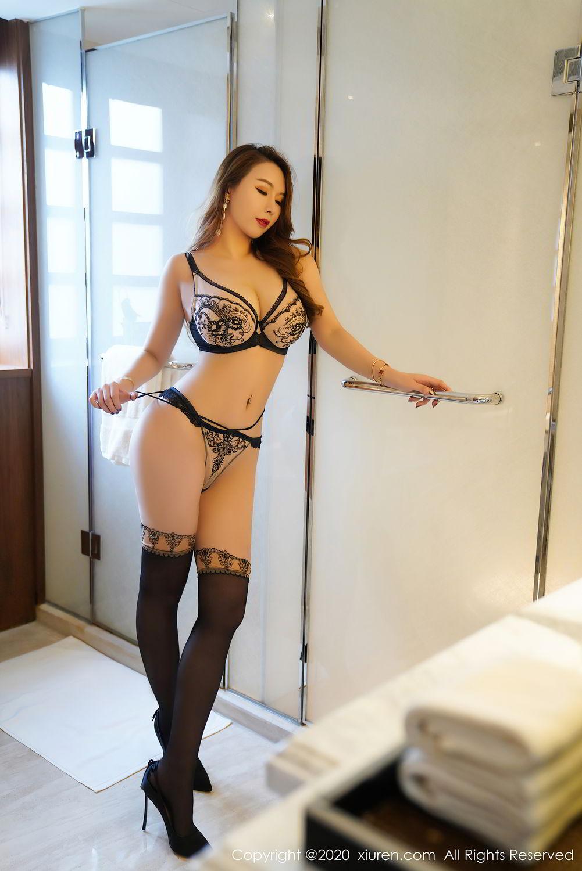 [XiuRen] Vol.2465 Egg Younisi 35P, Egg Younisi, Mature, Underwear, Uniform, Xiuren