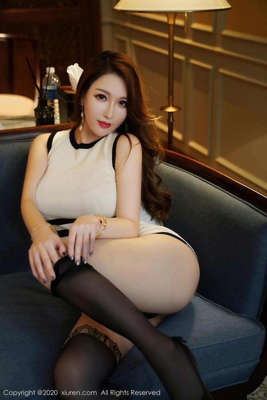 [XiuRen] Vol.2465 Egg Younisi 45P, Egg Younisi, Mature, Underwear, Uniform, Xiuren