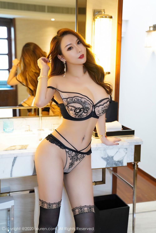[XiuRen] Vol.2465 Egg Younisi 56P, Egg Younisi, Mature, Underwear, Uniform, Xiuren