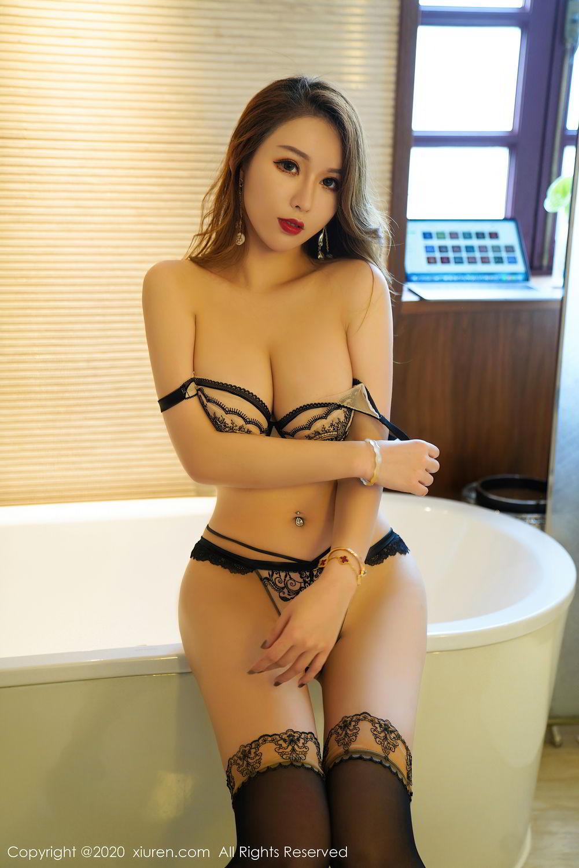 [XiuRen] Vol.2465 Egg Younisi 59P, Egg Younisi, Mature, Underwear, Uniform, Xiuren