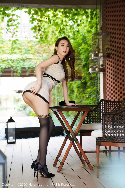 [XiuRen] Vol.2465 Egg Younisi 5P, Egg Younisi, Mature, Underwear, Uniform, Xiuren