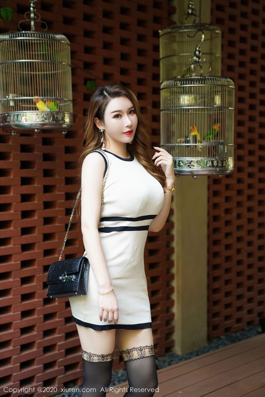 [XiuRen] Vol.2465 Egg Younisi 7P, Egg Younisi, Mature, Underwear, Uniform, Xiuren