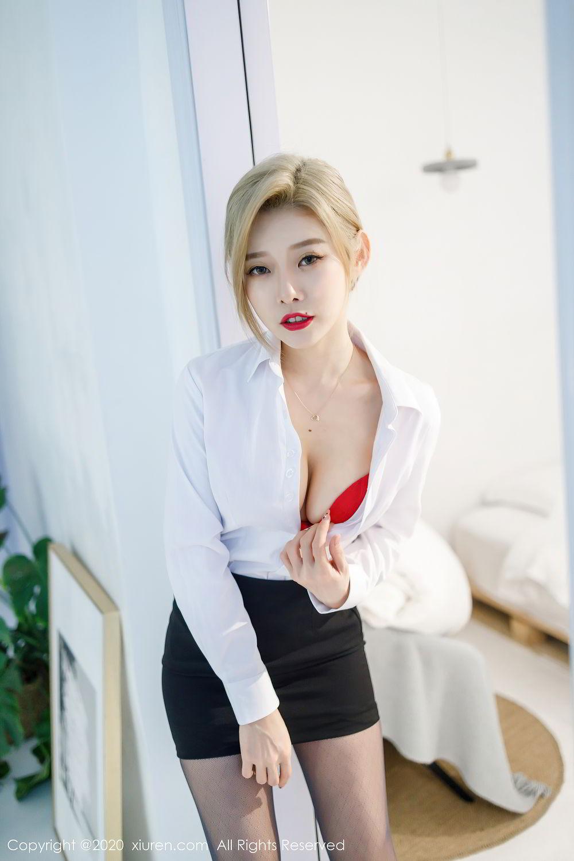 [XiuRen] Vol.2466 Ben Neng 4P, Black Silk, Luvian Ben Neng, Xiuren