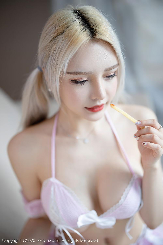 [XiuRen] Vol.2467 Miao Miao Xiao Jie Jie 22P, Underwear, Wang Zhao Lu, Xiuren