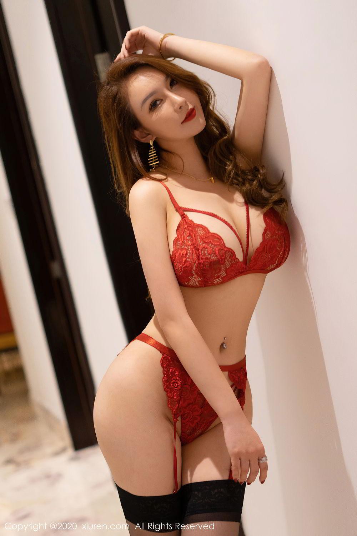 [XiuRen] Vol.2472 Egg Younisi 29P, Black Silk, Egg Younisi, Mature, Underwear, Xiuren