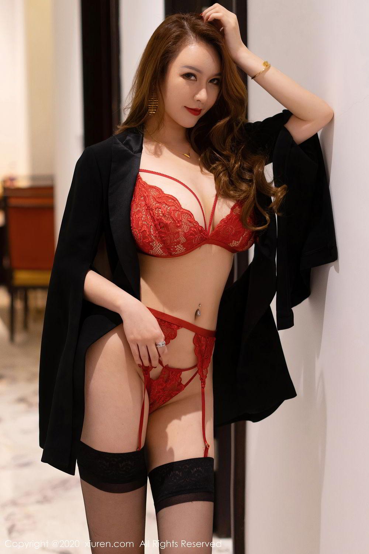 [XiuRen] Vol.2472 Egg Younisi 46P, Black Silk, Egg Younisi, Mature, Underwear, Xiuren