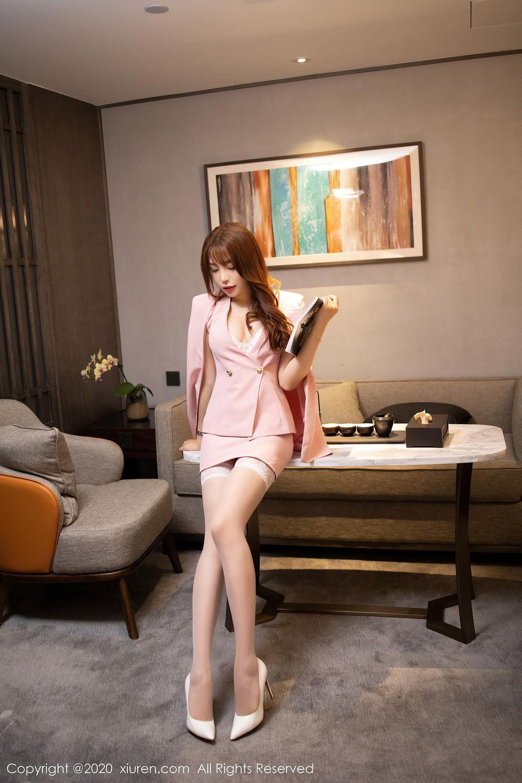 [XiuRen] Vol.2474 Zhi Zhi Booty 49P, Chen Zhi, Underwear, Xiuren