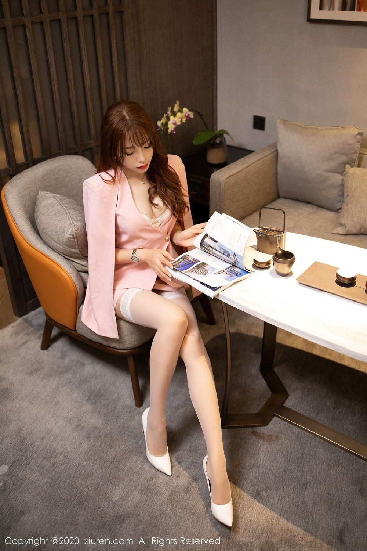 [XiuRen] Vol.2474 Zhi Zhi Booty 52P, Chen Zhi, Underwear, Xiuren