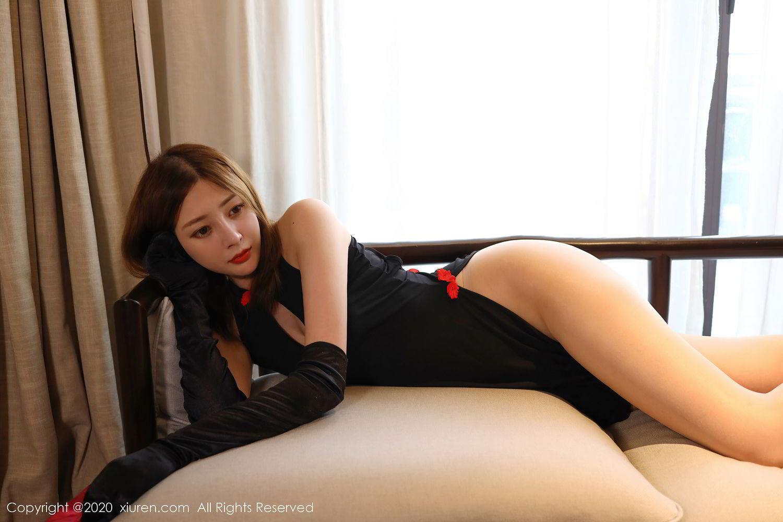[XiuRen] Vol.2476 Ying Hua Elsa 15P, Cheongsam, Tall, Xiuren, Ying Hua ELSA