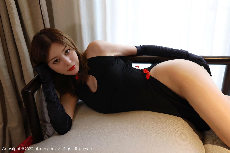 [XiuRen] Vol.2476 Ying Hua Elsa 17P, Cheongsam, Tall, Xiuren, Ying Hua ELSA