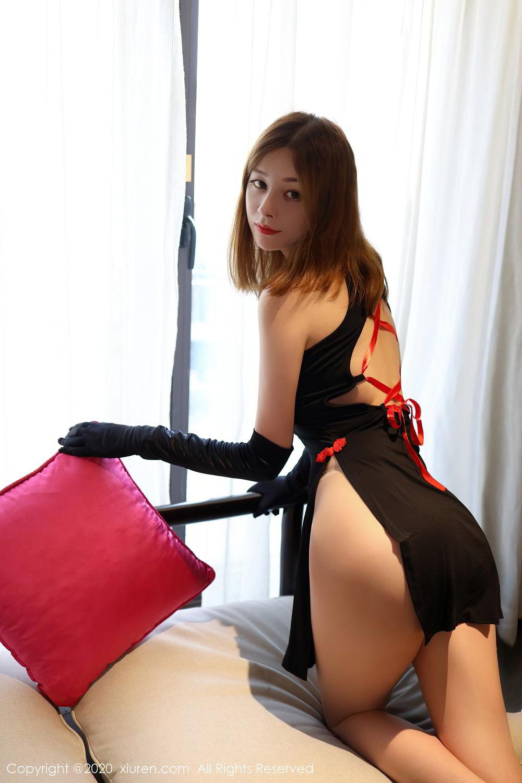 [XiuRen] Vol.2476 Ying Hua Elsa 20P, Cheongsam, Tall, Xiuren, Ying Hua ELSA