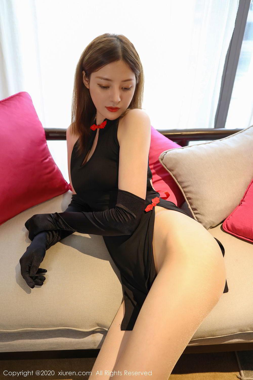 [XiuRen] Vol.2476 Ying Hua Elsa 2P, Cheongsam, Tall, Xiuren, Ying Hua ELSA