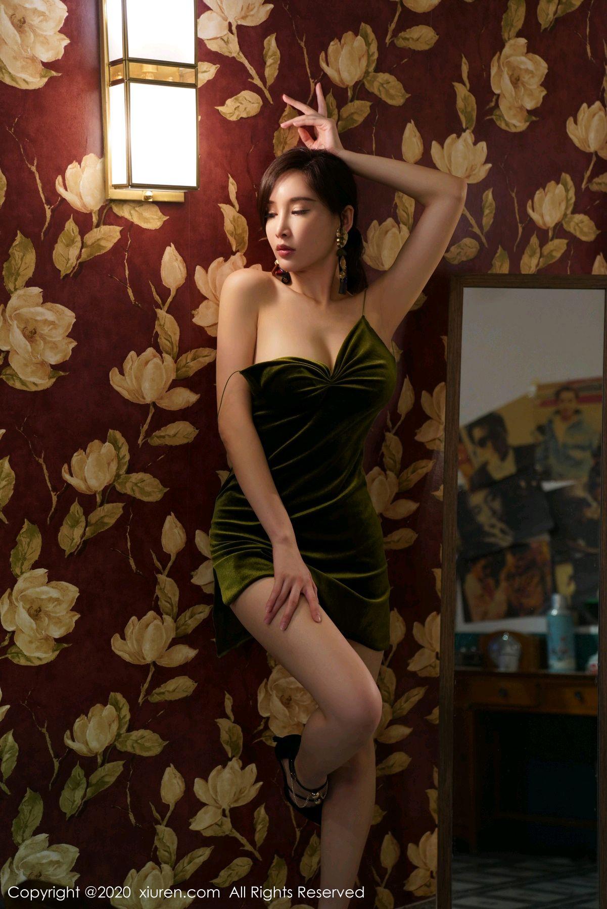 [XiuRen] Vol.2477 Tu Fei Yuan Ai Chuo QIong 54P, Sexy, Xiuren, Zhou Yan Xi