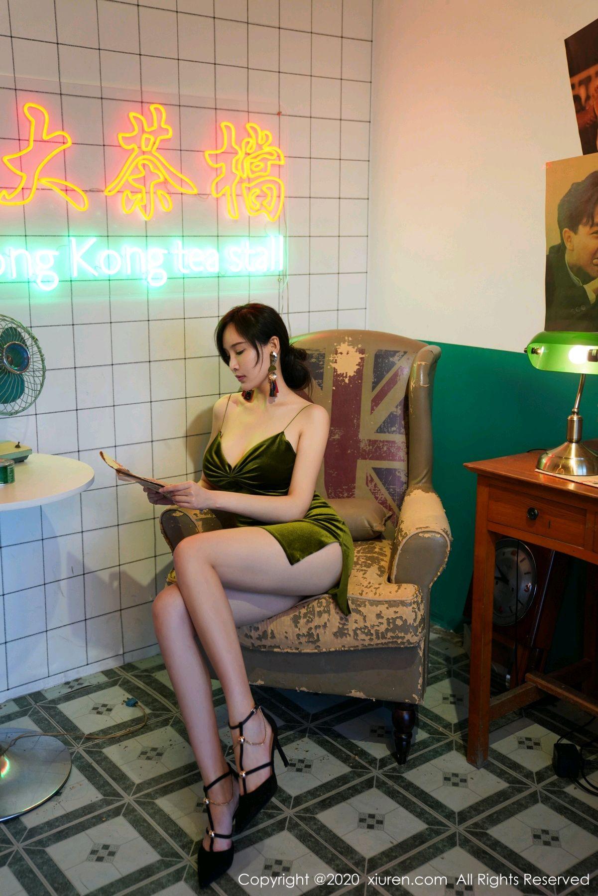 [XiuRen] Vol.2477 Tu Fei Yuan Ai Chuo QIong 8P, Sexy, Xiuren, Zhou Yan Xi