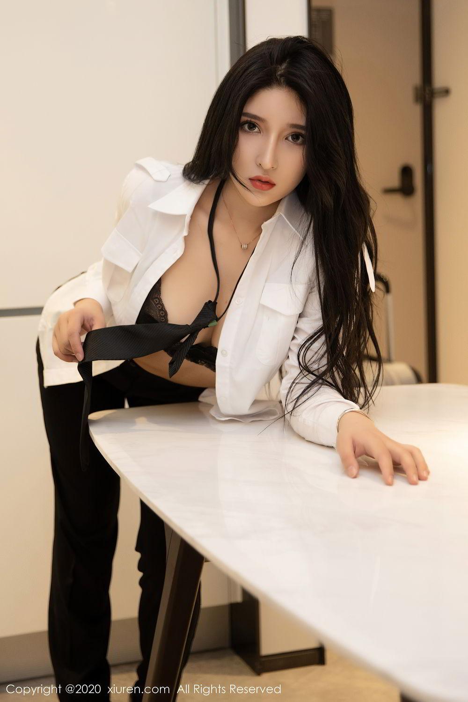 [XiuRen] Vol.2484 Shu Shu Mei Mei 11P, Black Silk, Shu Shu Mei Mei, Underwear, Xiuren