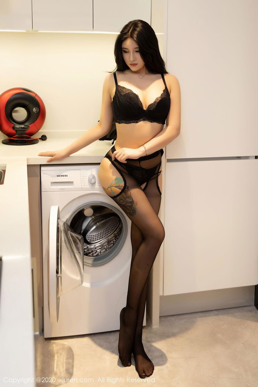 [XiuRen] Vol.2484 Shu Shu Mei Mei 36P, Black Silk, Shu Shu Mei Mei, Underwear, Xiuren