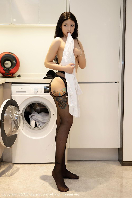 [XiuRen] Vol.2484 Shu Shu Mei Mei 41P, Black Silk, Shu Shu Mei Mei, Underwear, Xiuren