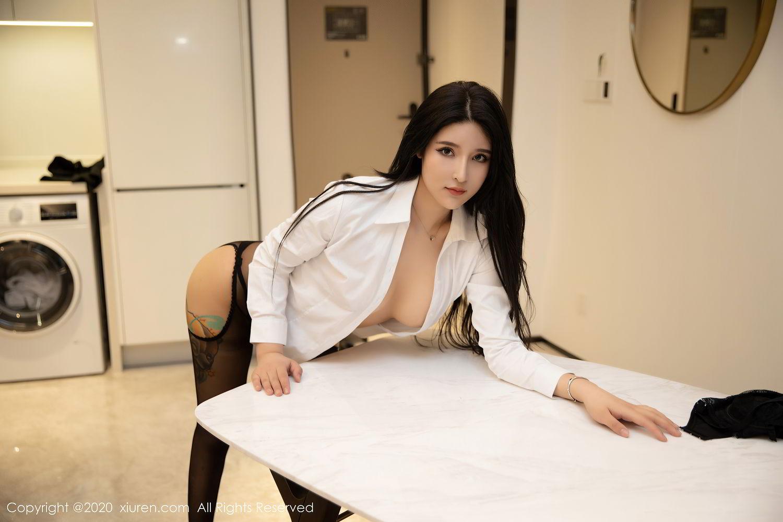 [XiuRen] Vol.2484 Shu Shu Mei Mei 43P, Black Silk, Shu Shu Mei Mei, Underwear, Xiuren