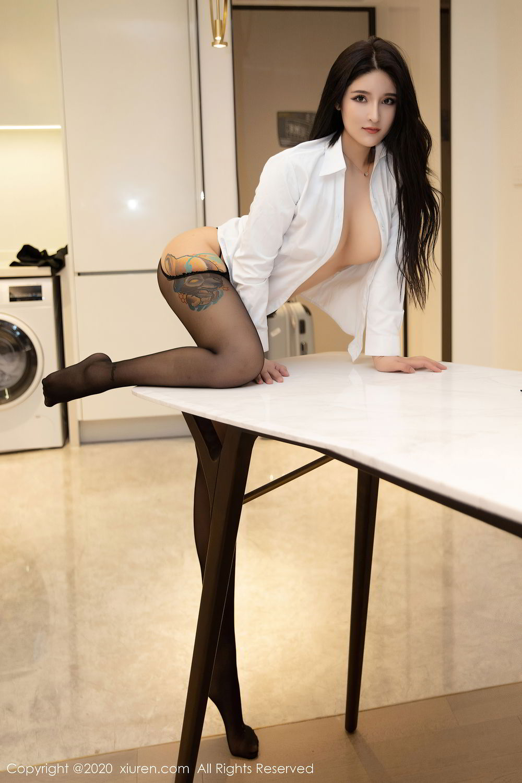 [XiuRen] Vol.2484 Shu Shu Mei Mei 44P, Black Silk, Shu Shu Mei Mei, Underwear, Xiuren