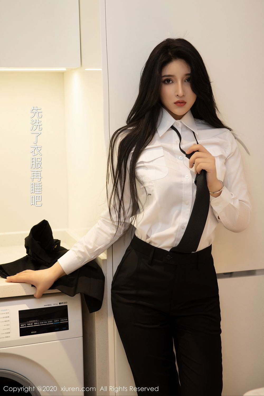 [XiuRen] Vol.2484 Shu Shu Mei Mei 5P, Black Silk, Shu Shu Mei Mei, Underwear, Xiuren