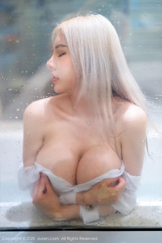 [XiuRen] Vol.2485 Wang Zhao Lu 9P, Bathroom, Wang Zhao Lu, Wet, Xiuren