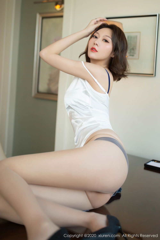 [XiuRen] Vol.2486 Yi Xuan 16P, Fu Yi Xuan, Tall, Temperament, Underwear, Uniform, Xiuren