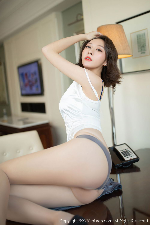 [XiuRen] Vol.2486 Yi Xuan 17P, Fu Yi Xuan, Tall, Temperament, Underwear, Uniform, Xiuren