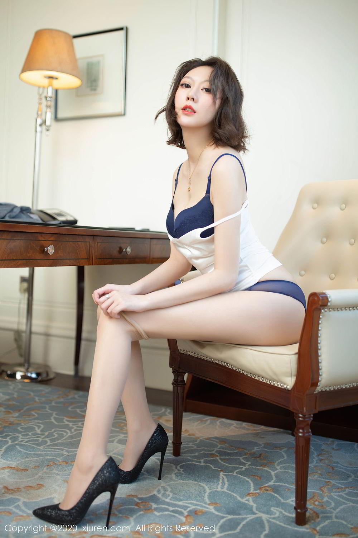 [XiuRen] Vol.2486 Yi Xuan 31P, Fu Yi Xuan, Tall, Temperament, Underwear, Uniform, Xiuren