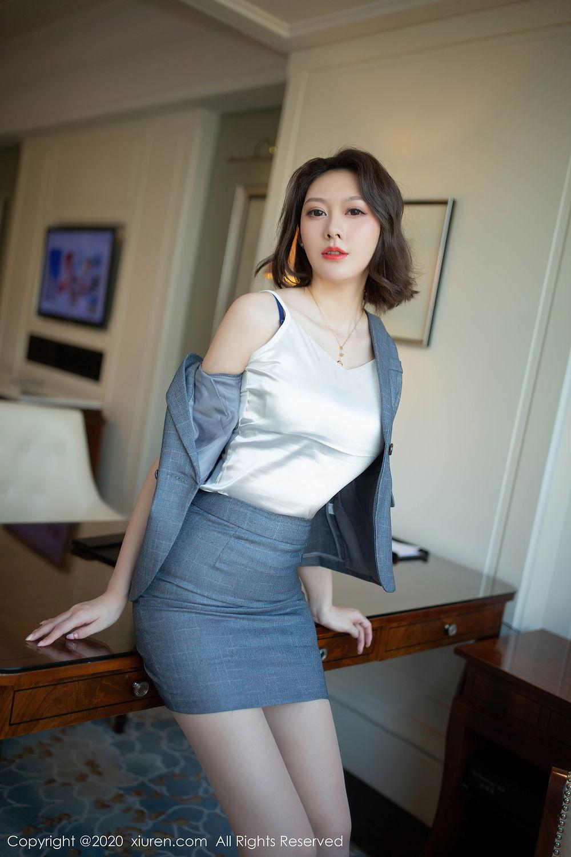 [XiuRen] Vol.2486 Yi Xuan 34P, Fu Yi Xuan, Tall, Temperament, Underwear, Uniform, Xiuren