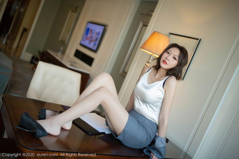 [XiuRen] Vol.2486 Yi Xuan 45P, Fu Yi Xuan, Tall, Temperament, Underwear, Uniform, Xiuren