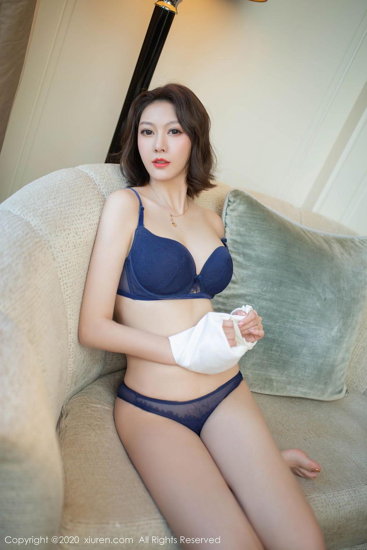 [XiuRen] Vol.2486 Yi Xuan 48P, Fu Yi Xuan, Tall, Temperament, Underwear, Uniform, Xiuren