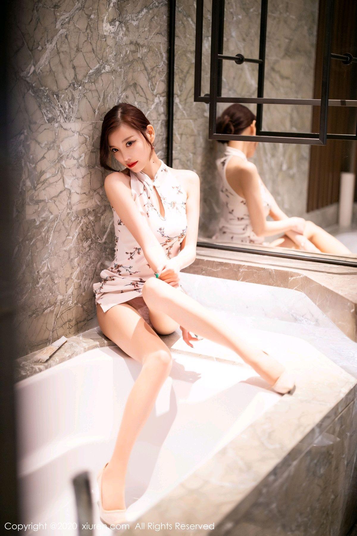 [XiuRen] Vol.2487 Yang Chen Chen 102P, Cheongsam, Tall, Xiuren, Yang Chen Chen