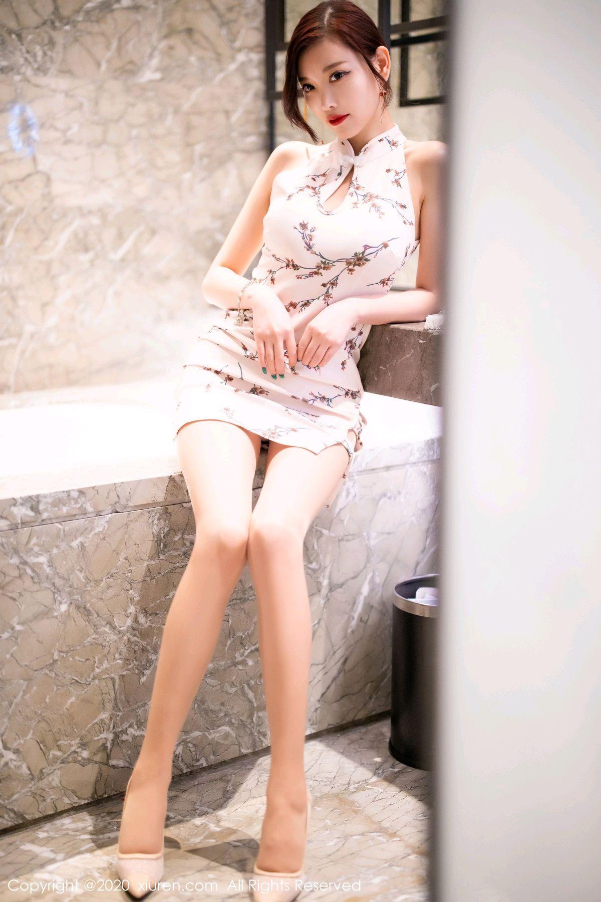 [XiuRen] Vol.2487 Yang Chen Chen 24P, Cheongsam, Tall, Xiuren, Yang Chen Chen