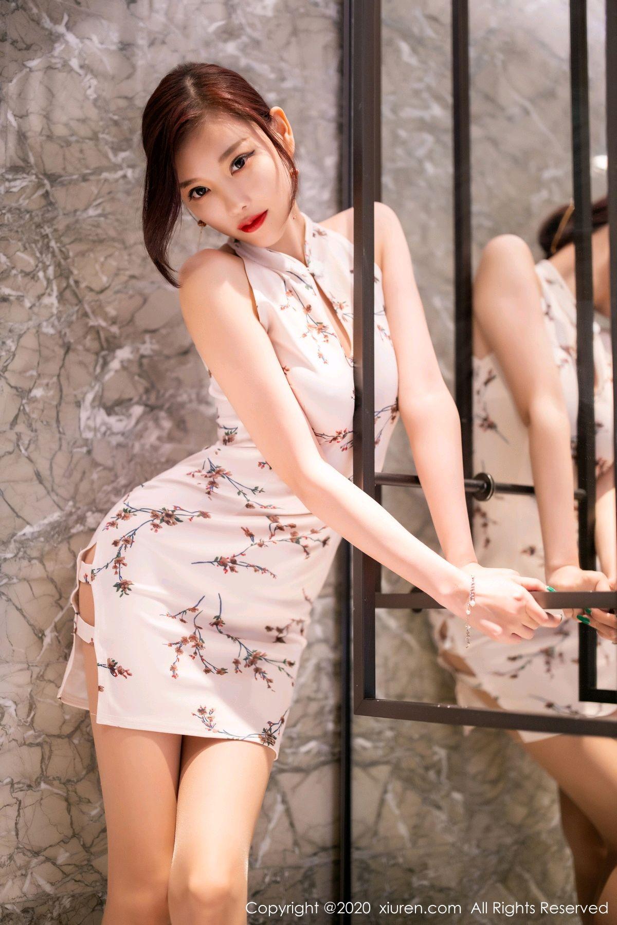 [XiuRen] Vol.2487 Yang Chen Chen 54P, Cheongsam, Tall, Xiuren, Yang Chen Chen