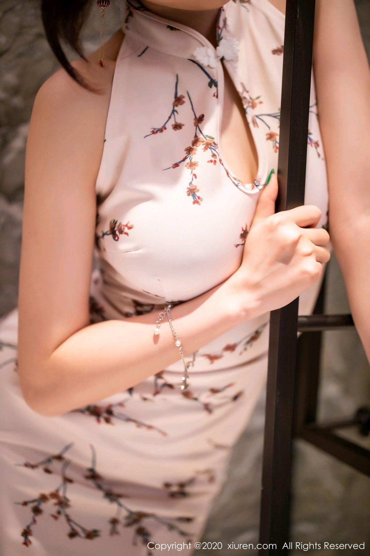[XiuRen] Vol.2487 Yang Chen Chen 55P, Cheongsam, Tall, Xiuren, Yang Chen Chen