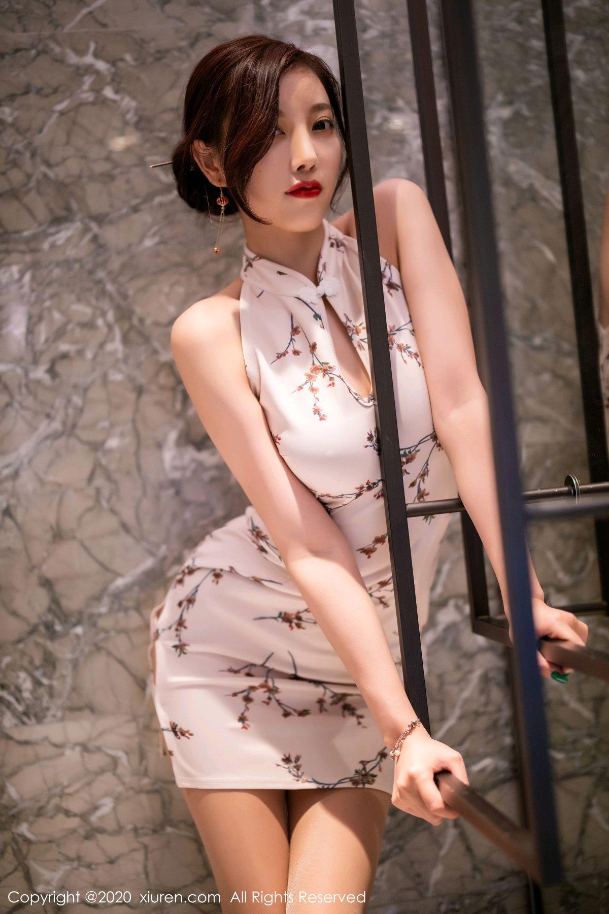 [XiuRen] Vol.2487 Yang Chen Chen 58P, Cheongsam, Tall, Xiuren, Yang Chen Chen