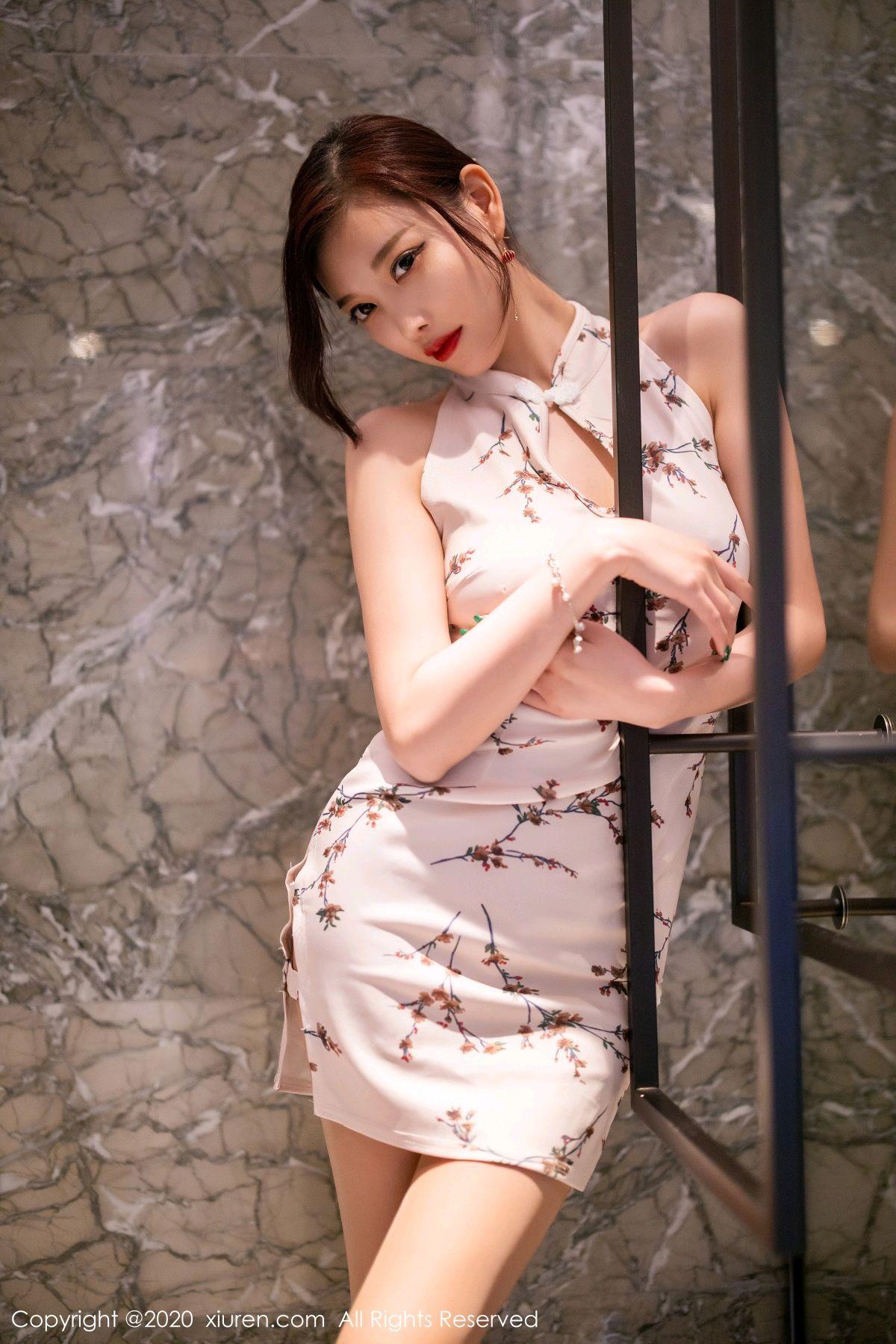 [XiuRen] Vol.2487 Yang Chen Chen 60P, Cheongsam, Tall, Xiuren, Yang Chen Chen