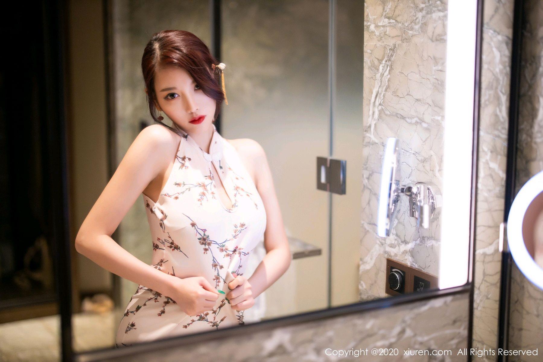 [XiuRen] Vol.2487 Yang Chen Chen 76P, Cheongsam, Tall, Xiuren, Yang Chen Chen