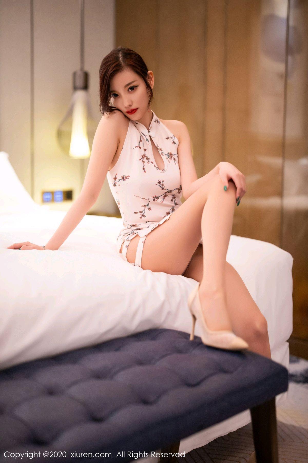 [XiuRen] Vol.2487 Yang Chen Chen 79P, Cheongsam, Tall, Xiuren, Yang Chen Chen