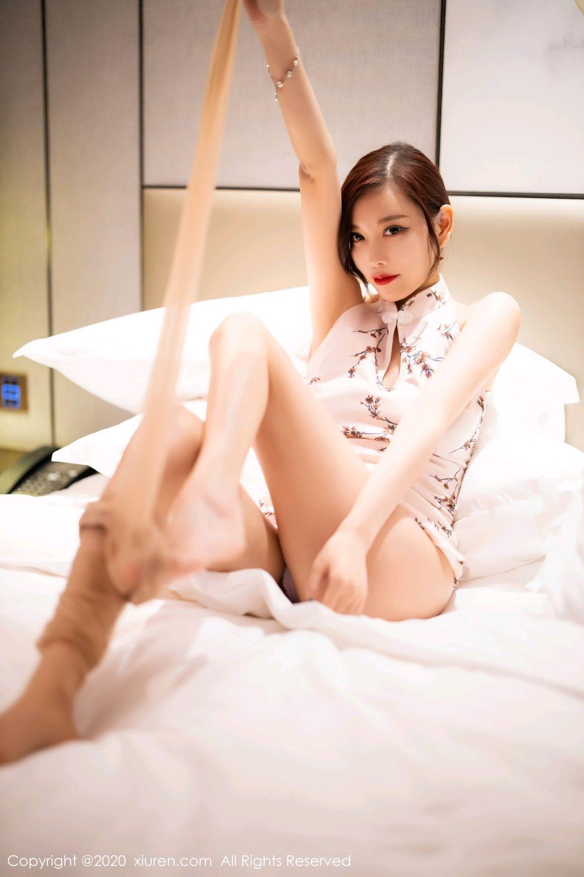 [XiuRen] Vol.2487 Yang Chen Chen 88P, Cheongsam, Tall, Xiuren, Yang Chen Chen