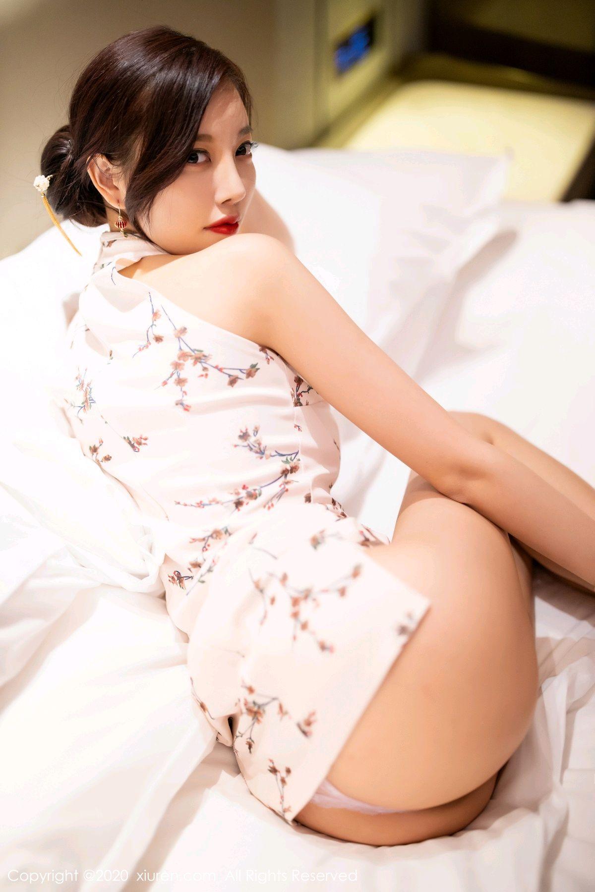 [XiuRen] Vol.2487 Yang Chen Chen 95P, Cheongsam, Tall, Xiuren, Yang Chen Chen