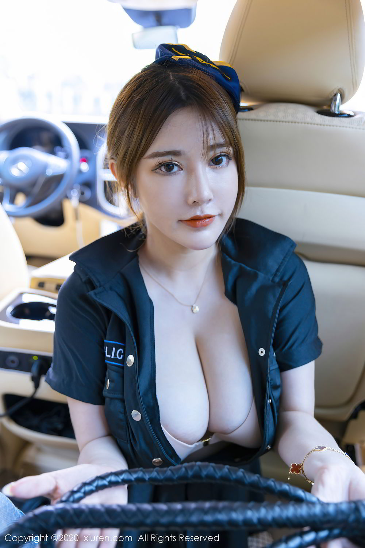 [XiuRen] Vol.2489 Ruan Ruan Roro 7P, Ruan Ruan Roro, Stewardess, Uniform, Xiuren