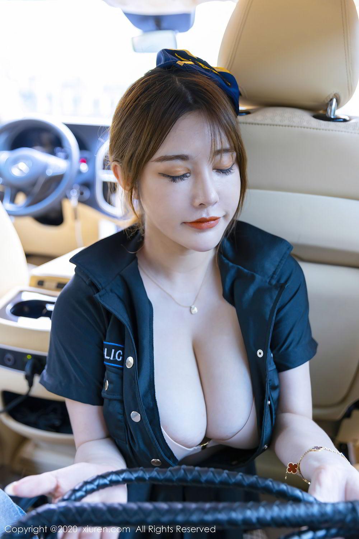 [XiuRen] Vol.2489 Ruan Ruan Roro 8P, Ruan Ruan Roro, Stewardess, Uniform, Xiuren