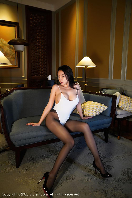 [XiuRen] Vol.2490 Guo Er Victoria 23P, Black Silk, Sexy, Song Guo Er, Xiuren