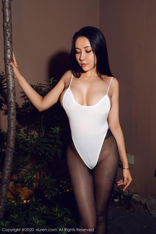 [XiuRen] Vol.2490 Guo Er Victoria 25P, Black Silk, Sexy, Song Guo Er, Xiuren