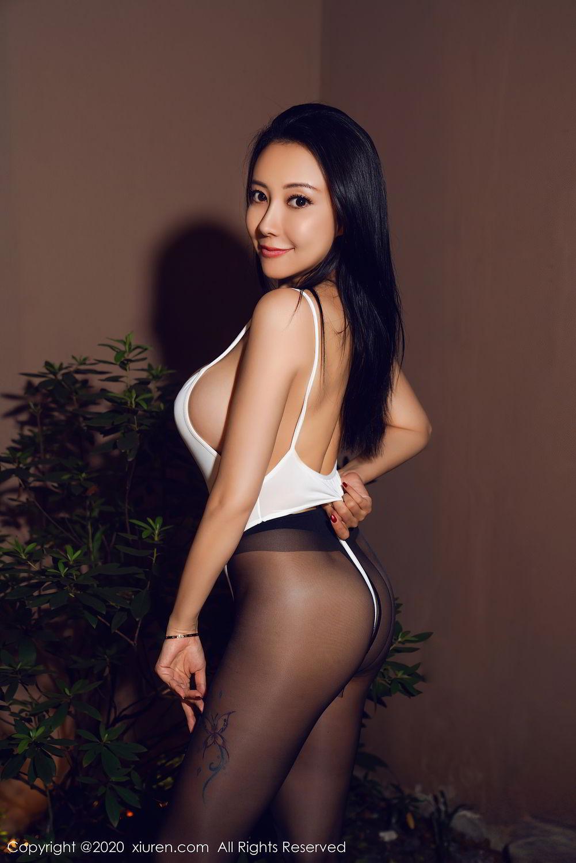 [XiuRen] Vol.2490 Guo Er Victoria 26P, Black Silk, Sexy, Song Guo Er, Xiuren