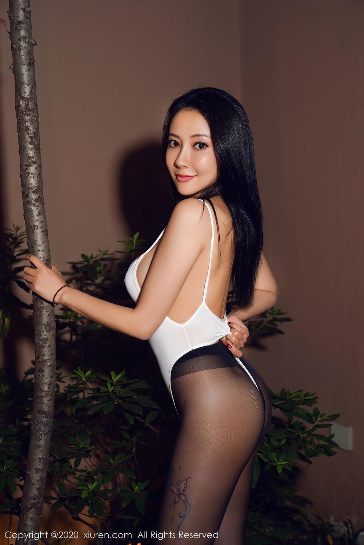 [XiuRen] Vol.2490 Guo Er Victoria 27P, Black Silk, Sexy, Song Guo Er, Xiuren