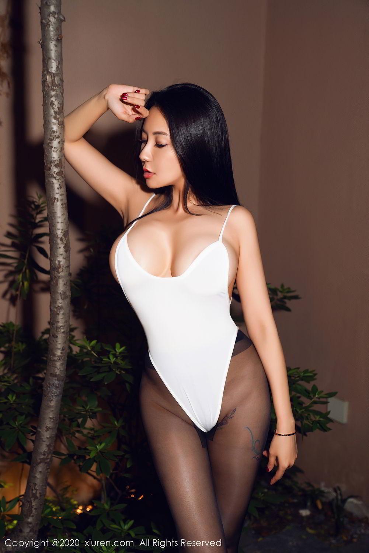 [XiuRen] Vol.2490 Guo Er Victoria 28P, Black Silk, Sexy, Song Guo Er, Xiuren