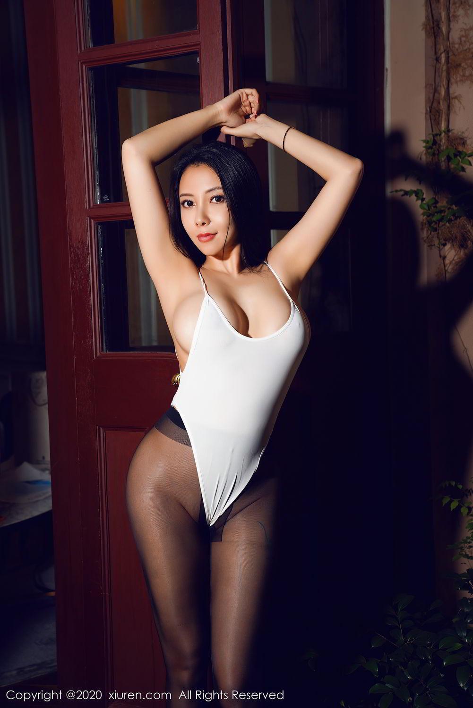 [XiuRen] Vol.2490 Guo Er Victoria 31P, Black Silk, Sexy, Song Guo Er, Xiuren