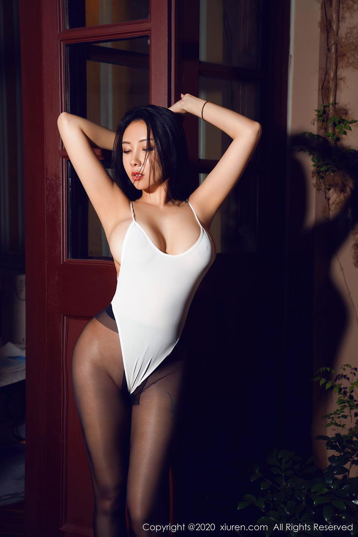 [XiuRen] Vol.2490 Guo Er Victoria 32P, Black Silk, Sexy, Song Guo Er, Xiuren